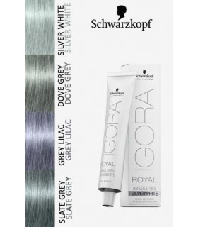 Schwarzkopf tinte Igora Absolutes Silverwhite  Slate Grey  60 ml