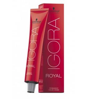 Schwarzkopf tinte Igora Royal 60 ml 8.11- rubio claro ceniza intenso