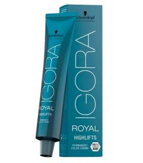 Schwarzkopf tinte Igora Royal Highlifts 60 ml 10.21 - rubio platino humo ceniza