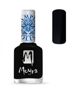 MOYRA esmalte stamping Sp06 negro 12 ml