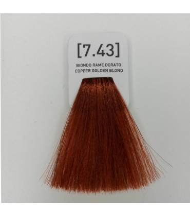 INSIGHT Incolor Crema colorante 100 ml - 7.43 Rubio cobre dorado
